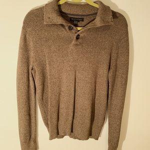 Banana Republic Brown Collared Sweater